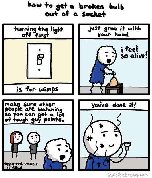 Broken Bulb
