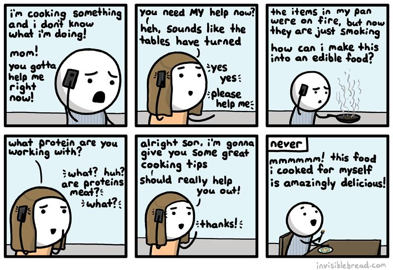 Help Me, Mom!