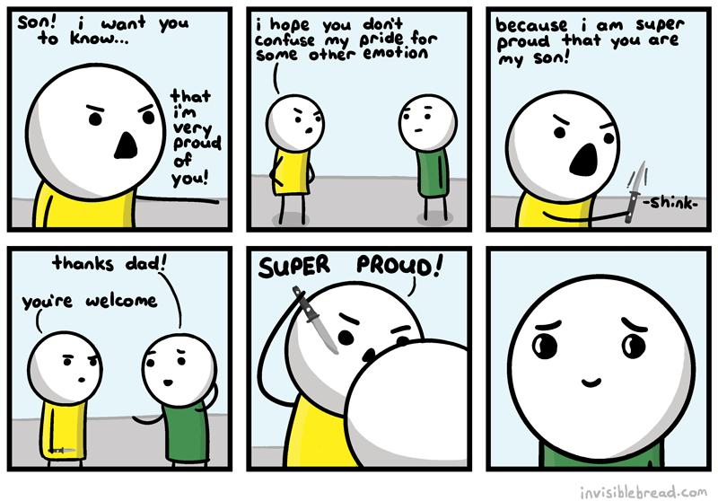 Invisible Bread - Dad Stuff