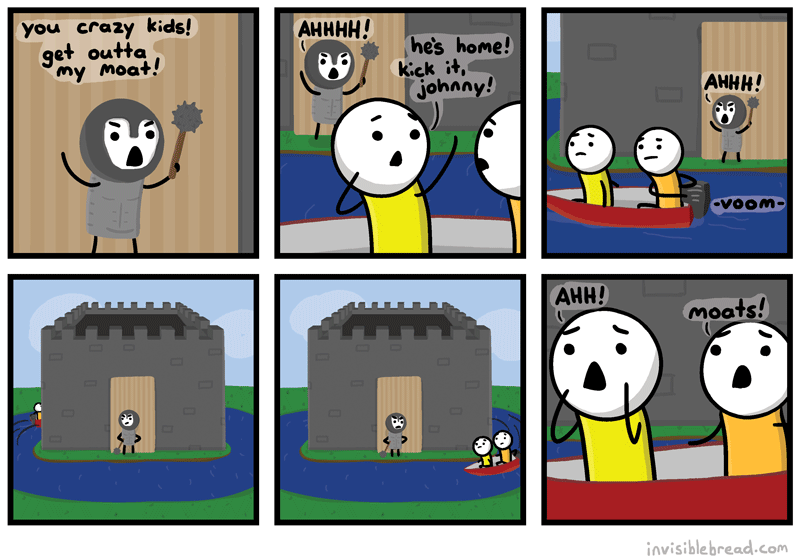 A Man And His Moat