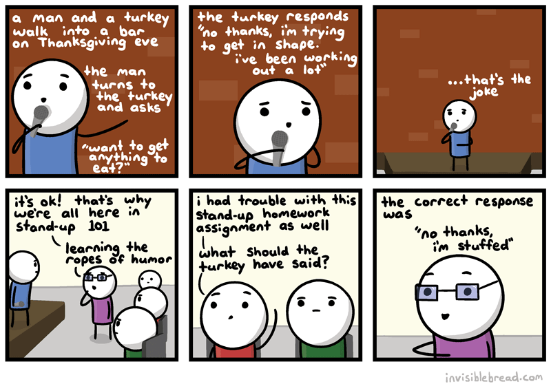 Thanksgiving Stand-up